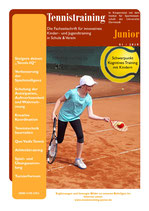 Tennistraining Junior - Ausgabe 1/2019