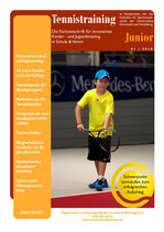 Tennistraining Junior - Ausgabe 1/2018