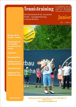 Tennistraining Junior - Ausgabe 1/2013