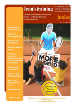 Tennistraining Junior - Ausgabe 1/2016