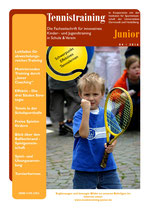 Tennistraining Junior - Ausgabe 4/2016