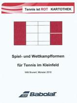 5 - Tennis ist ROT- Spiel- und Wettkampfformen im Kleinfeld -  Kartothek