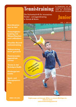 Tennistraining Junior - Ausgabe 3/2016