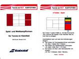 """Tennis ist ROT- Kartothek - Spiel- und Wettkampfformen im Kleinfeld - Training """"To-Go"""""""