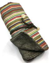 Hundedecke Multicoloured Stripes