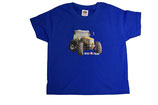 Rigitrac Kinder T-Shirt blau