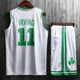 Комплект подростковой баскетбольной формы NBA Бостон Селтикс  №11 Кайри Ирвинг белый домашний
