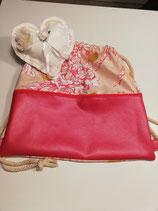 Sportbeutel für die Dame in pink Tönen