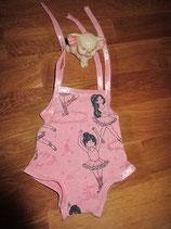 Badeanzug mit Tänzerinnen für Babypuppe (43 cm)