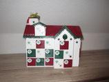 Weihnachtshaus zum Bestücken
