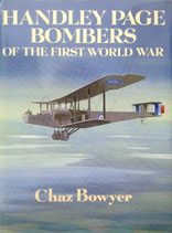 Handley page bombers of the first world war.