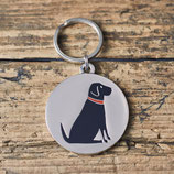 Sweet William Dog Tag Black Labrador