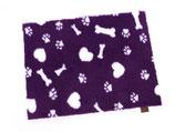 Original Vetbed™ Isobed SL purple Hearts, Paws & Bones