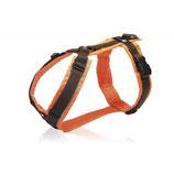 Annyx Brustgeschirr protect braun/orange L