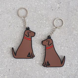 Sweet William Schlüsselanhänger chocolate Labrador