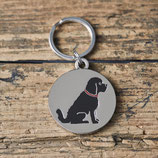 Sweet William Dog Tag Cockapoo/ Labradoodle black