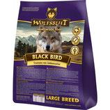 Wolfsblut Black Bird LARGE BREED Trockenfutter für Hunde mit Truthahn und Süßkartoffel - 15 kg