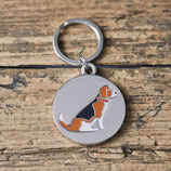 Sweet William Dog Tag Beagle
