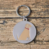 Sweet William Dog Tag Yellow Labrador