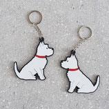 Sweet William Schlüsselanhänger West Highland Terrier