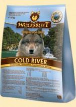 Wolfsblut Cold River Trockenfutter für Hunde mit Forelle 15 kg