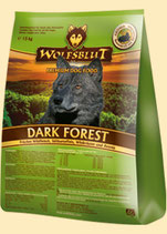 Wolfsblut Dark Forest Trockenfutter für Hunde Dark Forest mit Wildfleisch 15 kg