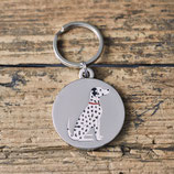 Sweet William Dog Tag Dalmatiner