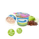 Frozen Joghurt mit Hähnchenleber und Apfel 90ml / Becher