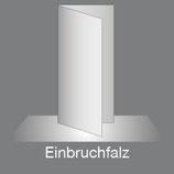 Folder DIN Lang Hoch 4 Seiten Parallelfalz, 4/4-farbig Euroskala+Dispersionslack matt