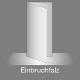 Folder DIN Lang Hoch 4 Seiten, Parallelfalz, 4/4-farbig Euroskala+Dispersionslack matt