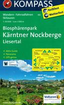 Karte - Biosphärenpark Kärntner Nockberge