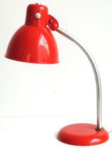 Schreibtischlampe - flammendes Rot