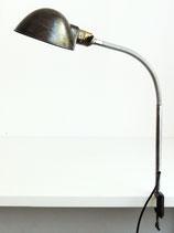 Schwanenhals Schreibtischleuchte mit Klemmfuß – Halbkugelschirm