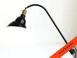 Peitschenlampe - Alte Schreibtischleuchte mit Klemmfuß