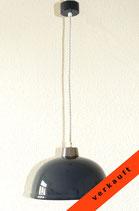 Alte Fabrik-Deckenlampe, Werkstattleuchte