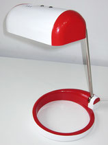 Schreibtischleuchte - Rot / Weiß