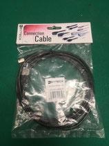 Cavo USB 2.0 tipo A/B Keyteck CC-USB2-AMBM