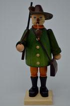 Räuchermann Jäger mit grüner Jacke