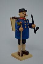 Räuchermann Kiepenkerl mit blauer Jacke