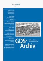 GDS-Archiv Band 9