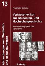 Verfasserlexikon zur Studenten- und Hochschulgeschichte