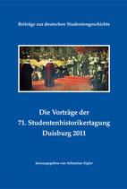 Die Vorträge der 71. Studentenhistorikertagung Duisburg 2011