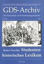 Studentenhistorisches Lexikon (GDS-Archiv Beiheft 9)