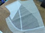 Entoilage plastron pour tailleurs (la paire)