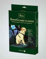 Kombination: Hundegeschirr und Sicherheitsgurt