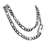 FIGARO Halskette aus Edelstahl in 3 verschiedenen Längen