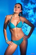 türkises Triangel-Bikini-Oberteil 23064 von Sanselle