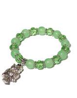Armband, grün von Madame Butterfly