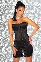 Korsett-Kleid schwarz