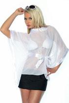 Bluse & Rock weiß/schwarz